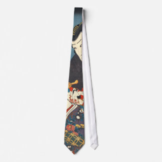 Kabuki Actors 1855 Tie
