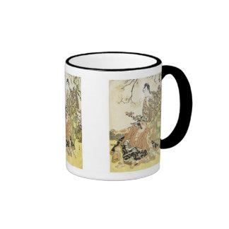 Kabuki Actors, Shunsho, 1780s Mugs
