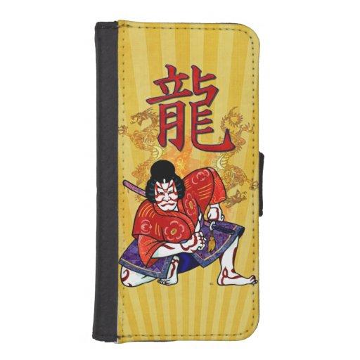 Kabuki Japanese Actor Folk Art iPhone 5 Wallet
