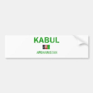 Kabul Afghanistan Designs Bumper Sticker