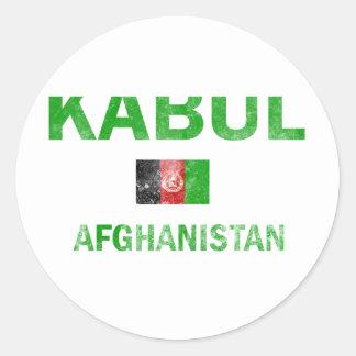 Kabul Afghanistan designs Round Sticker