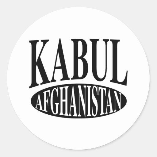 Kabul Afghanistan Sticker