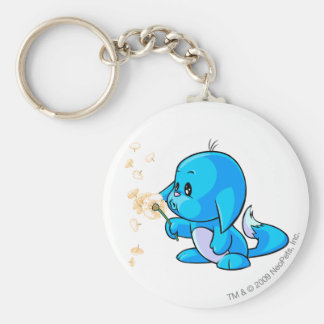 Kacheek Blue Key Ring