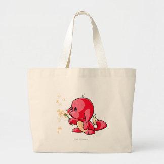 Kacheek Red Large Tote Bag
