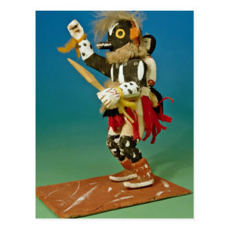 Kachina doll, Native American Postcard