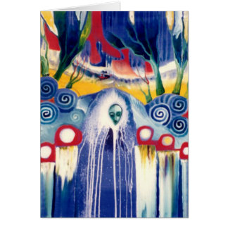 Kachinas Whistle by Gregory Gallo Greeting Card