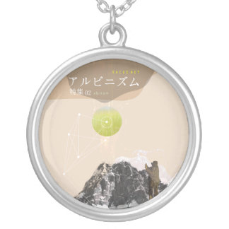 KACUE-NET special edition 02 alpinism Round Pendant Necklace