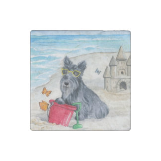 Kadie At The Beach Stine Marble magnet Stone Magnet