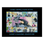 Kadie the Scottish Terrier Poster