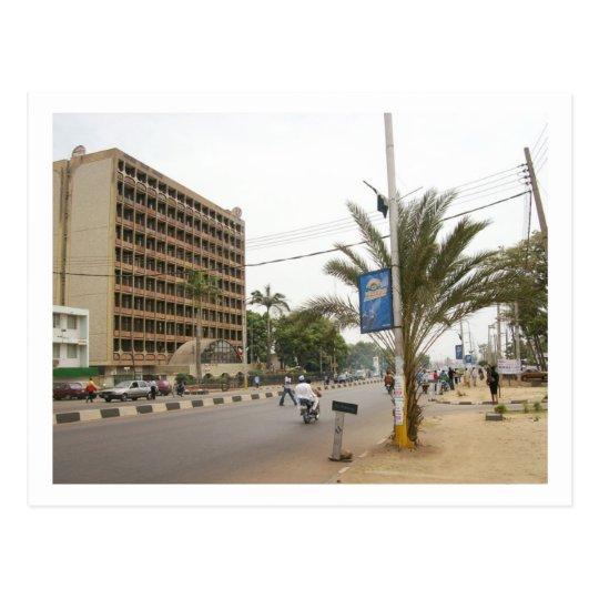 Kaduna Street, Nigeria Postcard