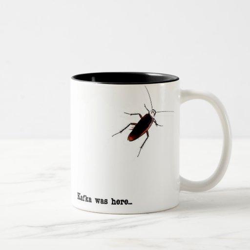 Kafka was here... mug