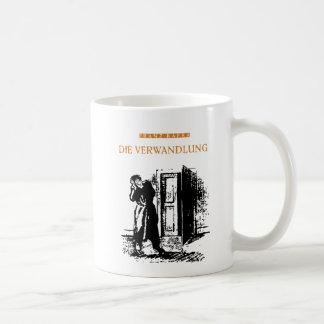 kafka white coffee mug