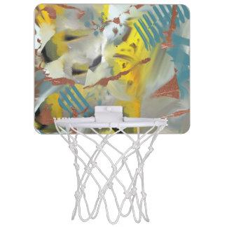 Kafkaesque Graffiti on cement Urban Hype Mini Basketball Hoop