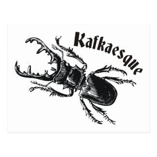 Kafkaesque Postcard
