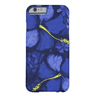 Kahala Hibiscus Hawaiian Lava Rock Illustration Barely There iPhone 6 Case