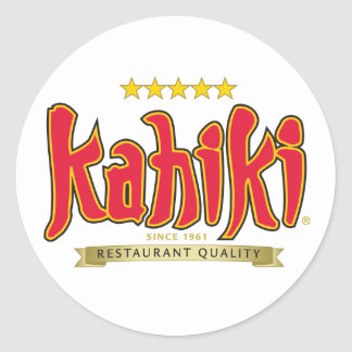 Kahiki Products Classic Round Sticker