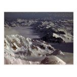 Kahiltna Glacier, as seen from Mt. McKinley, Alask Post Card