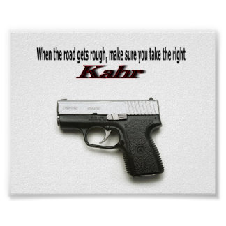 Kahr Card Poster