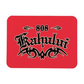Kahului 808 rectangular photo magnet