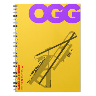 Kahului Airport (OGG) Diagram Notebook