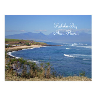 Kahului Bay, Maui, Hawaii Postcard
