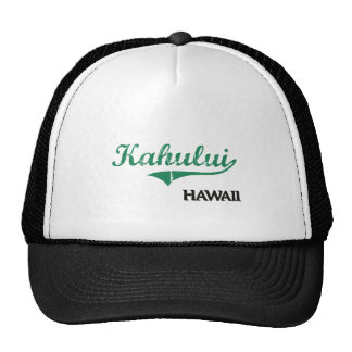 Kahului Hawaii City Classic Mesh Hats