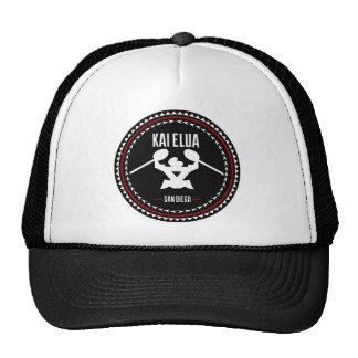 Kai Elua Outrigger 2013   Black Logo with Red Trim Cap