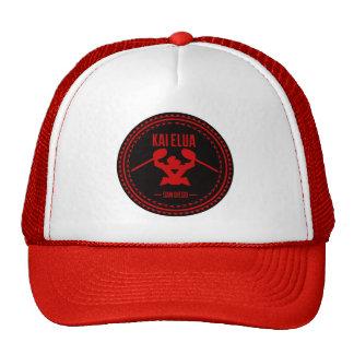 Kai Elua Outrigger 2013   Red Logo Cap