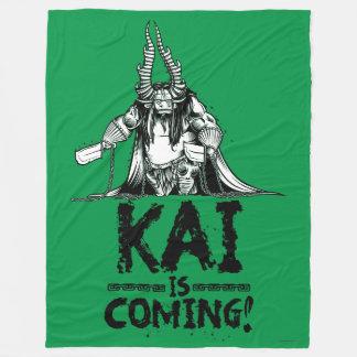 Kai is Coming! Fleece Blanket