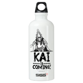 Kai is Coming! Water Bottle