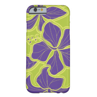 Kailua Hibiscus Hawaiian Oversized Floral Barely There iPhone 6 Case