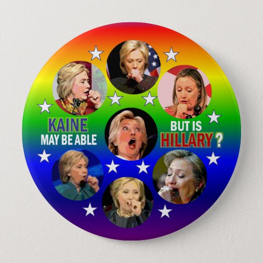Kaine may be able... 10 cm round badge