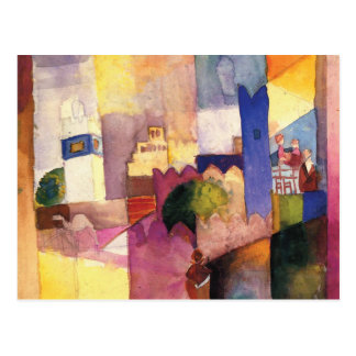 Kairouan III by August Macke Postcard