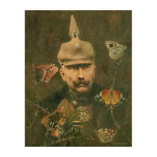 Kaisar Wilhelm Surreal Wooden Canvas Wood Print