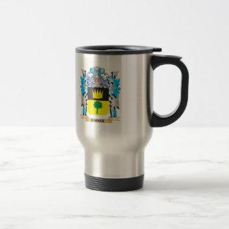 Kaiser Coat of Arms - Family Crest Mug