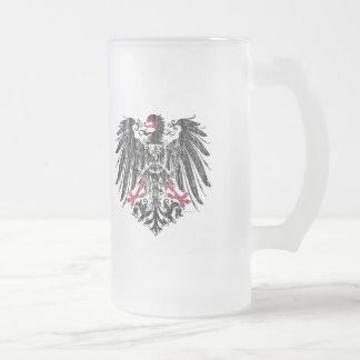 Kaiser Eagle Frosted Glass Mug