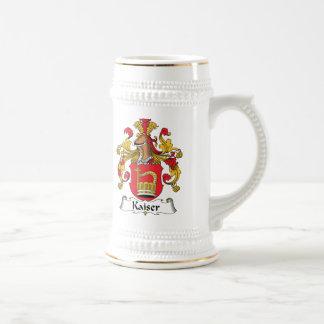 Kaiser Family Crest Beer Stein