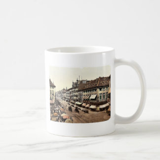 Kaiser Strasse Karlsruhe Baden Germany classic Coffee Mugs