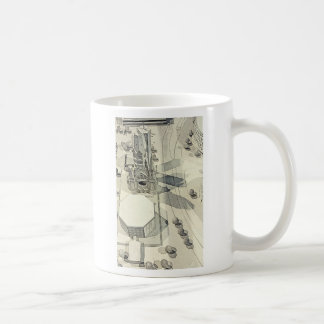 Kaiser Wilhelm Church, Berlin, Model Coffee Mug