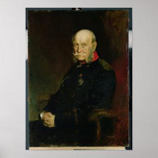 Kaiser Wilhelm I , 1888 Poster
