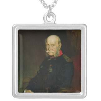 Kaiser Wilhelm I , 1888 Silver Plated Necklace