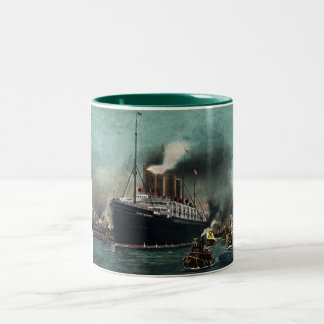 Kaiser Wilhelm II Two-Tone Coffee Mug