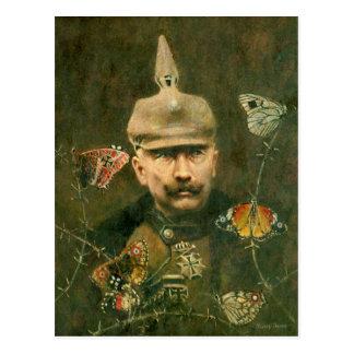Kaiser Wilhelm Surreal Postcard