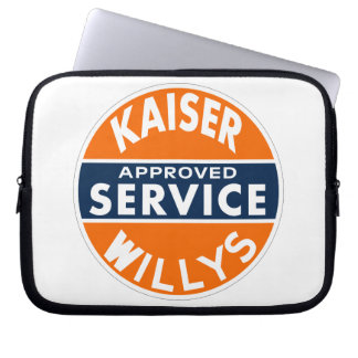 Kaiser Willys Approved Service vintage sign Laptop Sleeve
