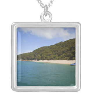 Kaiteriteri Beach, Abel Tasman National Park 3 Silver Plated Necklace