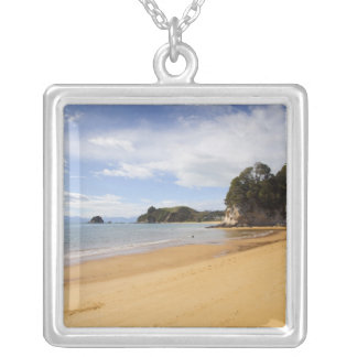 Kaiteriteri Beach, Abel Tasman National Park Silver Plated Necklace