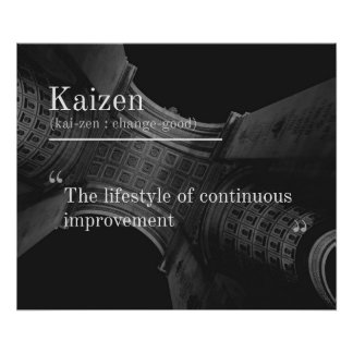 Kaizen (Continuous Improvement) Poster