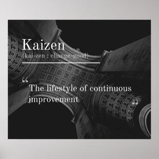 Kaizen (Continuous Improvement) Poster
