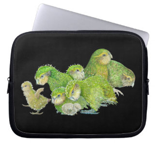 Kakapo Chicks Laptop Sleeves