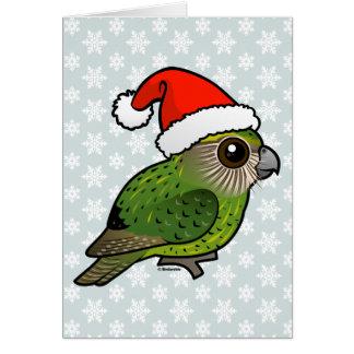 Kakapo Claus Card